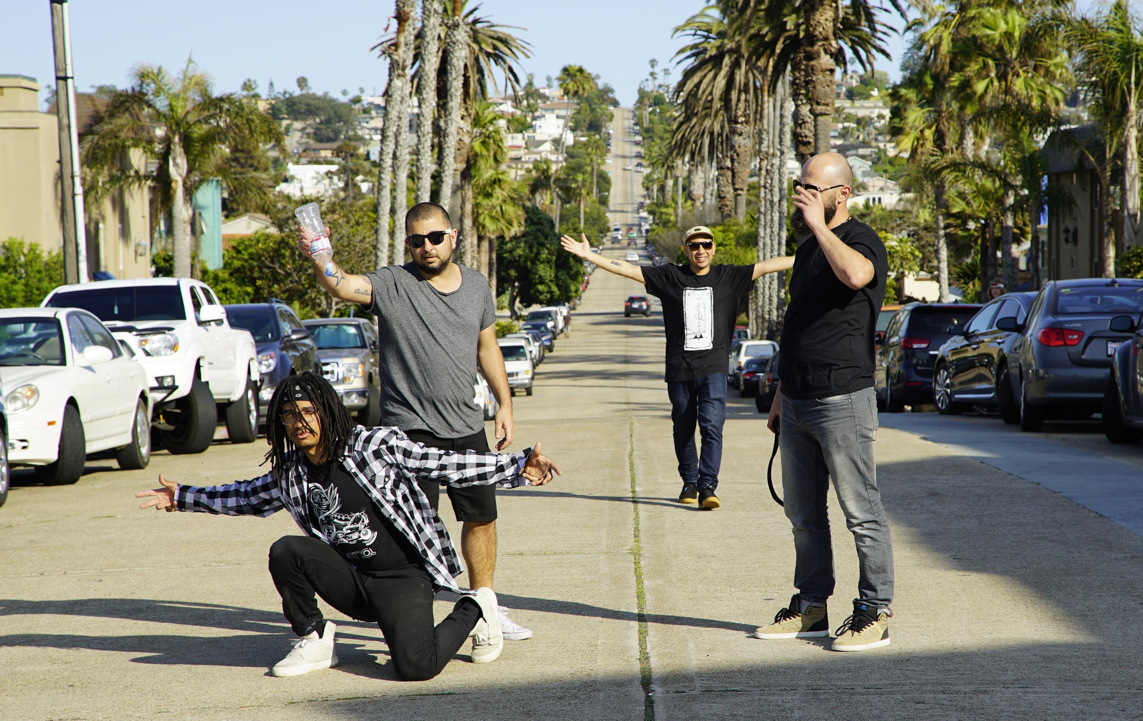 San Diego crew